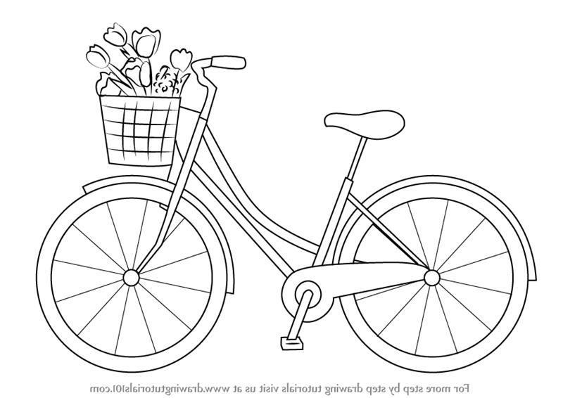 Comment dessiner un vélo